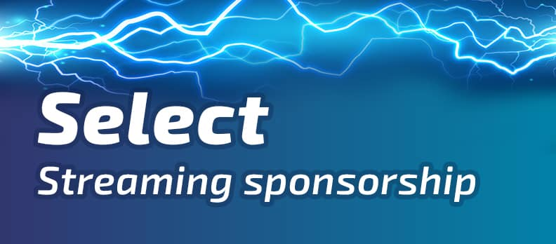 streaming sponsor