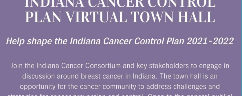Cancer control flyer