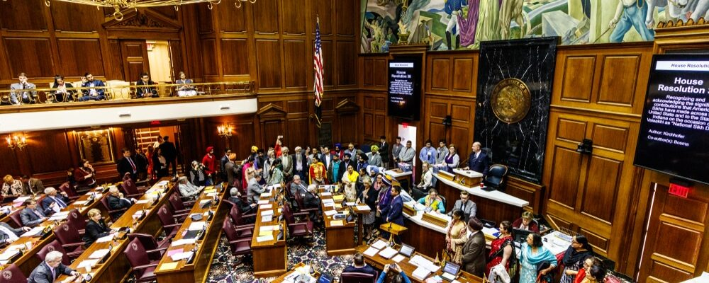 Indianapolis,-,Circa,February,2018:,Indiana,State,House,Of,Representatives
