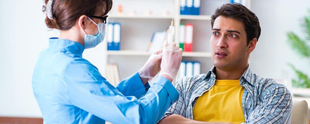 Patient,Afraid,Of,Dentist,During,Doctor,Visit
