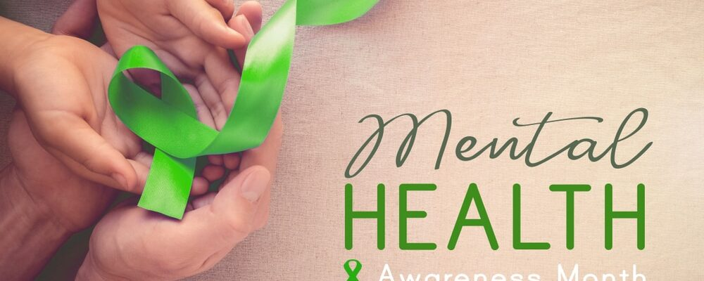 Adult,And,Child,Hands,Holding,Lime,Greenribbon,,Mental,Health,Awareness