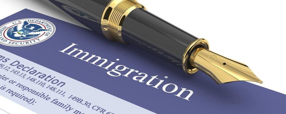 Immigration,Document.,3d,Illustration